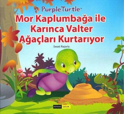 1. Sınıflar için Mor Kaplumbağa Serisi Seti - 10 Kitap Takım