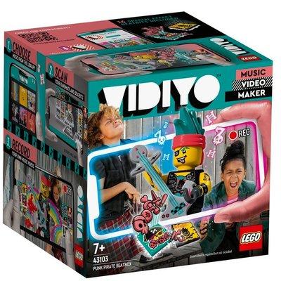 Lego-Vidiyo Punk Pirate Beat Box 43103