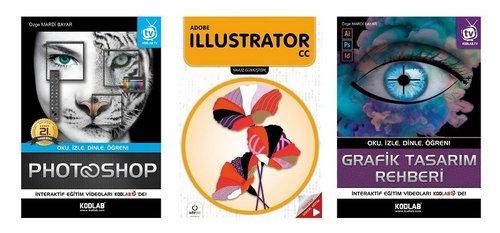 Grafik Tasarım Seti - 3 Kitap Takım