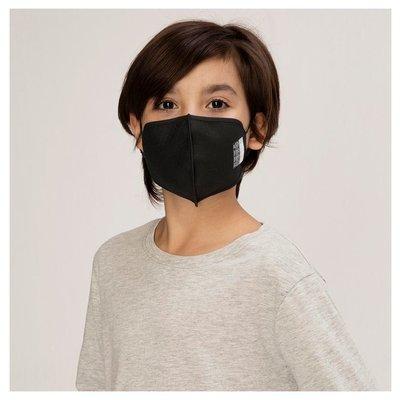 Silver Pro Maske 5-7 Yaş Çocuk - Siyah