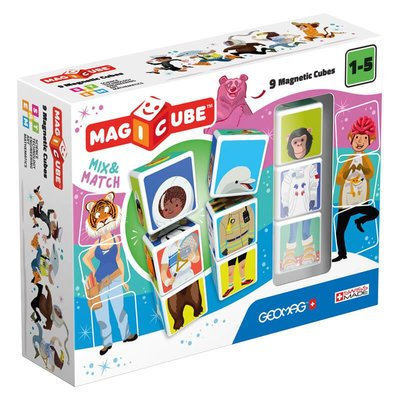 Geomag Magicube Mix&Match Karakterler 9 Parça