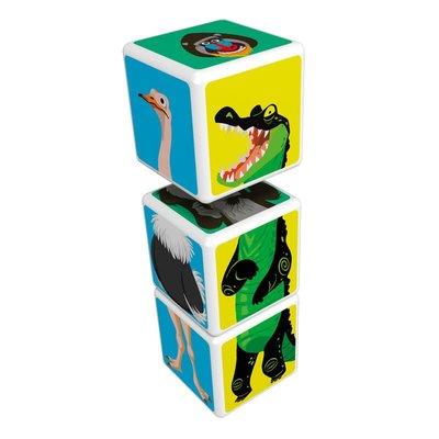Geomag Magicube 109 Mix & Match Orman Hayvanlar Eğitici Oyun