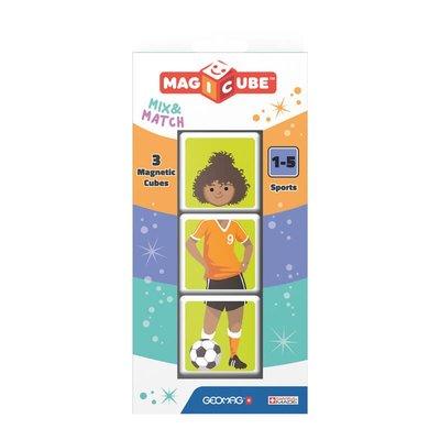 Geomag Magicube 111 Mix & Match Sporlar Eğitici Oyun