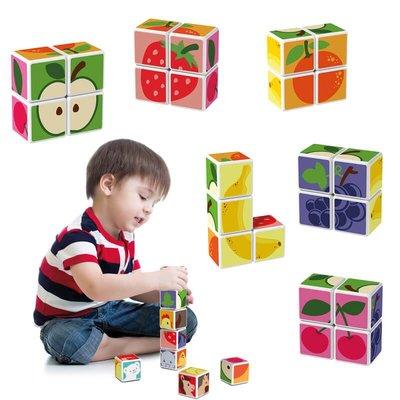 Geomag Magicube 131 Meyve Paketi Eğitici Oyun