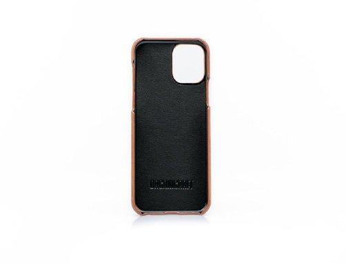 OrganiCraft iPhone 11 Pro Açık Kahverengi Deri Kılıf