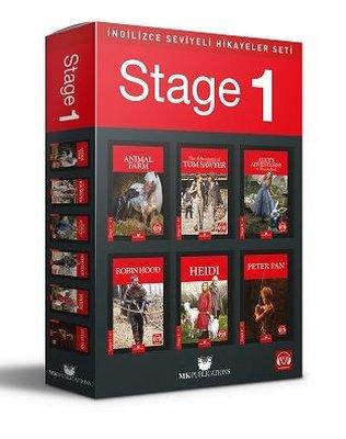 İngilizce Hikaye Seti - Stage 1 - 6 Kitap Takım