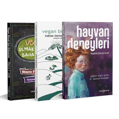 Vegan Bir Dünya Seti - 3 Kitap Takım