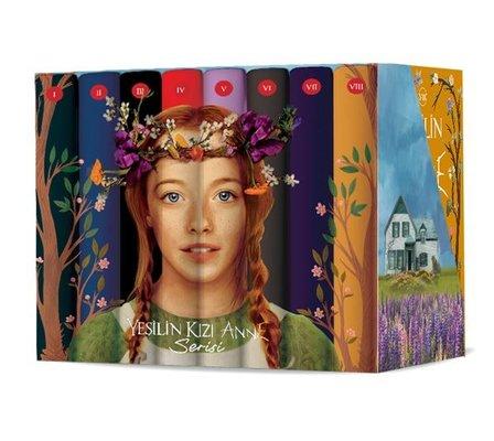 Yeşilin Kızı Anne Kutulu Set - 8 Kitap Takım