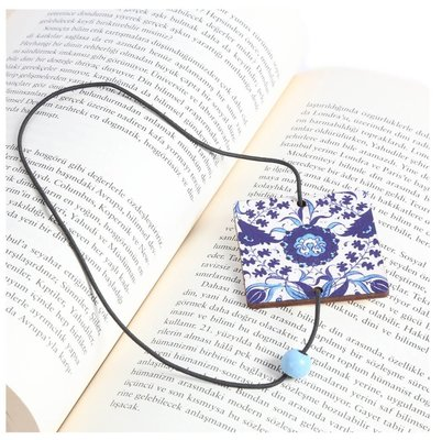 Pan Elastik Kitap Ayracı MaviCini