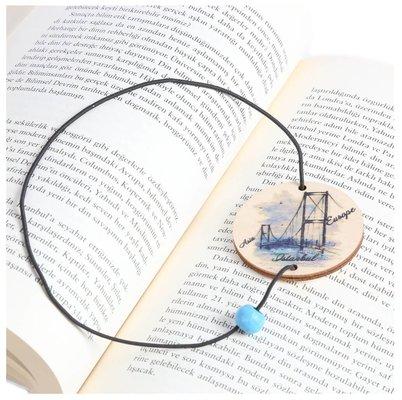 Pan Elastik Kitap Ayracı Boğaz Köprüsü
