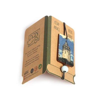 Pan Elastik Kitap Ayracı Galata Kulesi
