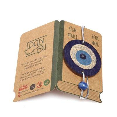 Pan Elastik Kitap Ayracı Nazar Boncuğu