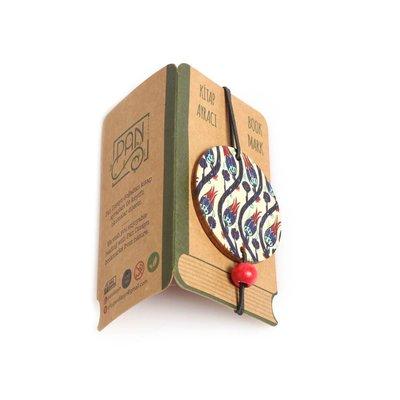 Pan Elastik Kitap Ayracı LaleliCini