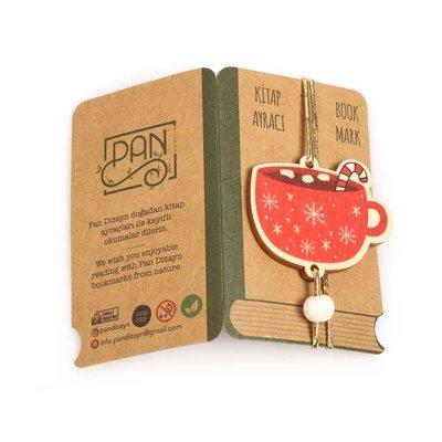 Pan Elastik Kitap Ayracı Kışlık Coffee