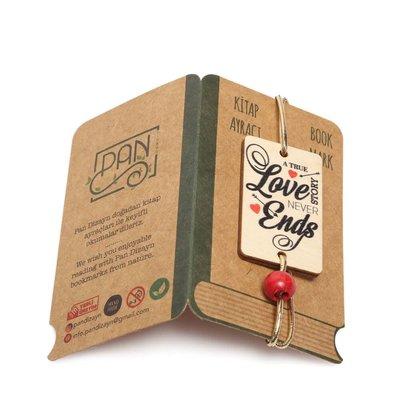 Pan Elastik Kitap Ayracı Love1