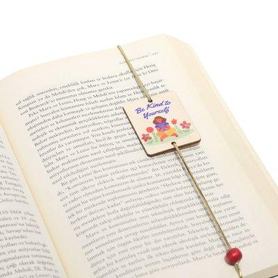 Pan Elastik Kitap Ayracı Love3