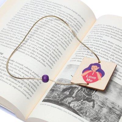 Pan Elastik Kitap Ayracı Love4