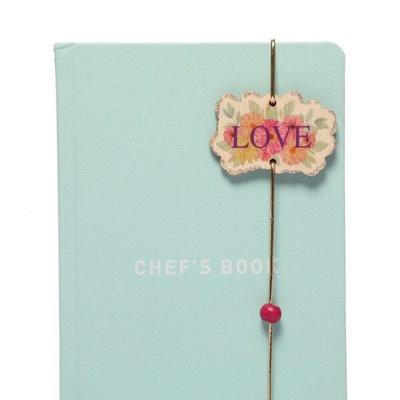 Pan Elastik Kitap Ayracı Love6