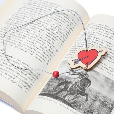 Pan Elastik Kitap Ayracı Love8