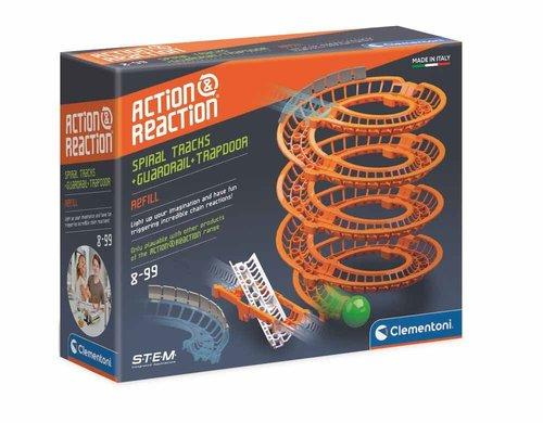 Clementoni 19168 Set Action & Reaction Spiral Raylar