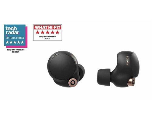 Sony WF-1000XM4 Tamamen Kablosuz Gürültü Engelleme Özellikli Siyah Kulaklık