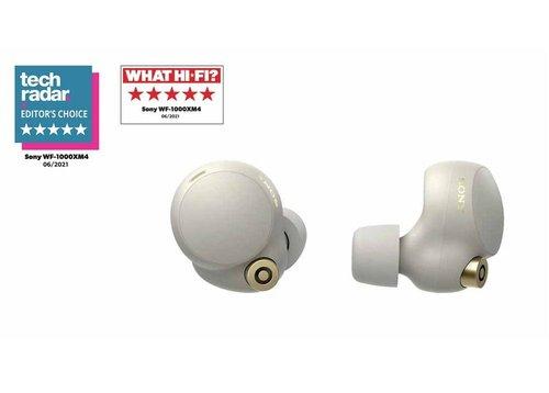 Sony WF-1000XM4 Tamamen Kablosuz Gürültü Engelleme Özellikli Gümüş Kulaklık