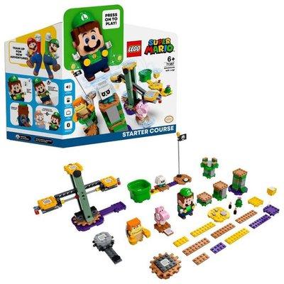 Lego Super Mario 71387 Adventures with Luigi Starter Course Birleştir Oyna Seti