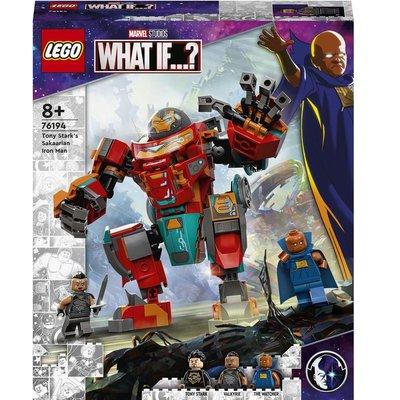 Lego Marvel 76194 Tony Starks Sakaarian Iron Man Birleştir Oyna Seti