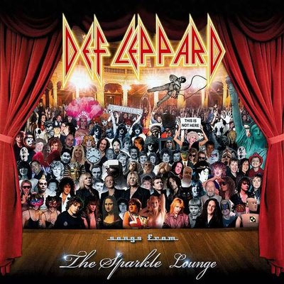 Def Leppard Songs From The Sparkle Lounge Plak