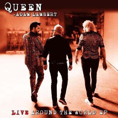 Adam Lambert Live Around The World 12 Colour Ep Plak