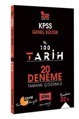 2022 KPSS Genel Kültür 100 Tarih Tamamı Çözümlü 20 Deneme
