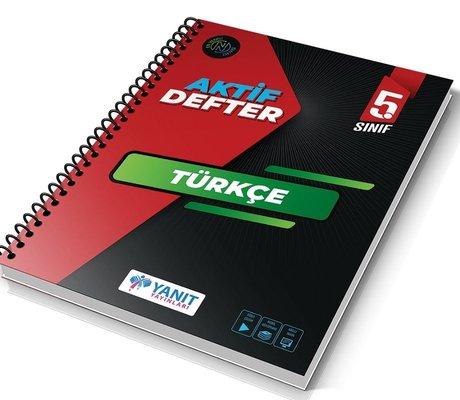 5.Sınıf Türkçe Aktif Defter
