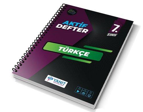 7.Sınıf Türkçe Aktif Defter