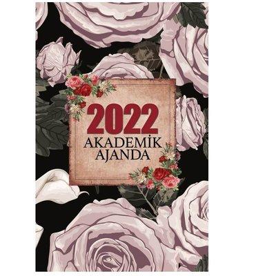 Halk 2022 Akademik Ajanda Kara Gül
