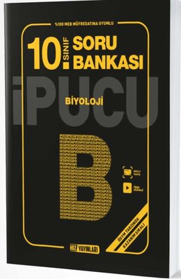 10.Sınıf Biyoloji İpucu Soru Bankası