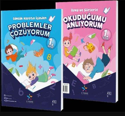 1.Sınıf Türkçe-Matematik Okuduğumu Anlıyorum Problemler Çözüyorum