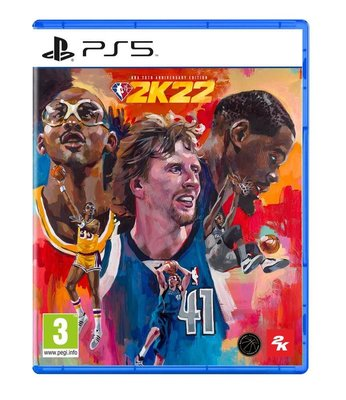 NBA 2K22 75th Anniversary Edition PS5 Oyun