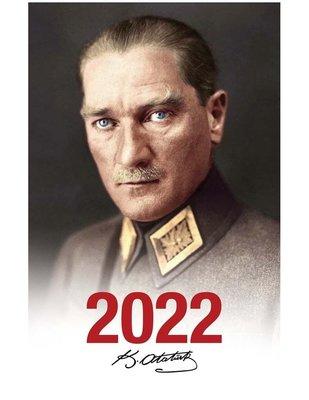 Halk 2022 Mareşal Beyaz Atatürk Ajandası
