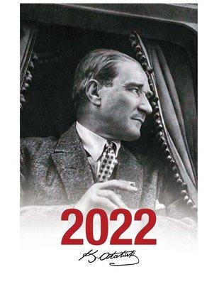 Halk 2022  Mustafa Kemal Beyaz Atatürk Ajandası