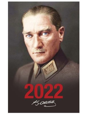 Halk 2022 Önder Siyah Atatürk Ajandası