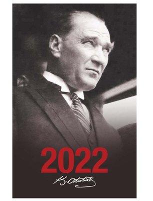 Halk 2022 Portre Siyah Atatürk Ajandası