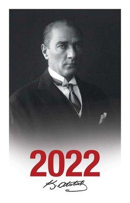 Halk 2022 Başöğretmen Çerçeveli Atatürk Ajandası