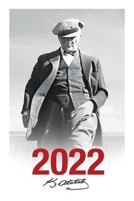 Halk 2022 Cumhuriyet Çerçeveli Atatürk Ajandası