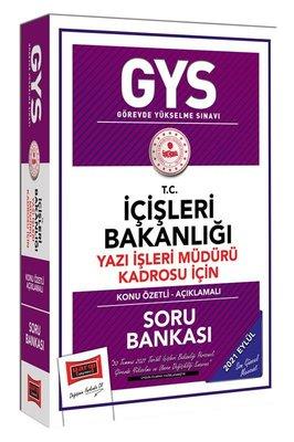 GYS Görevde Yükselme Sınavı T.C İçişleri Bakanlığı Yazı İşleri Müdürü Kadrosu İçin Konu Özetli Soru