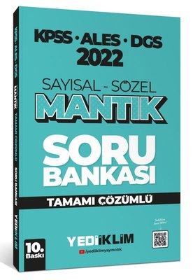 2022 KPSS - ALES - DGS Sayısal Sözel Mantık Tamamı Çözümlü Soru Bankası