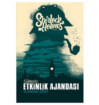 Halk Sherlock Holmes Süresiz Etkinlik Ajandasi ve Planlama Defteri
