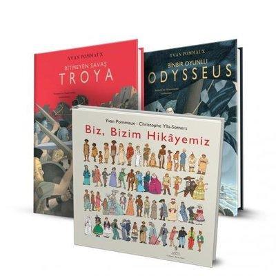 Yvan Pommaux Resimli Gençlik Kitapları Seti - 3 Kitap Takım