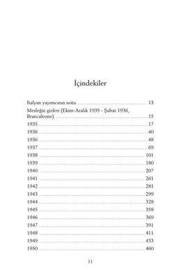 Yaşama Uğraşı - Günlükler 1935-1950