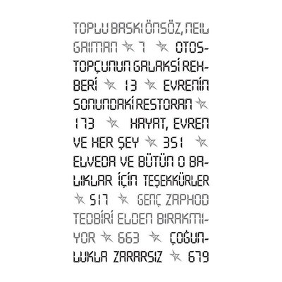 Otostopçunun Galaksi Rehberi-5 Kitap Bir Arada