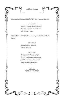 Fantastik Canavarlar: Grindewald'ın Suçları-Orijinal Senaryo